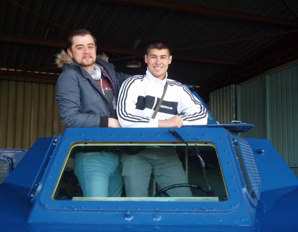 Découverte 2016 - visite du Groupement blindé de gendarmerie mobile