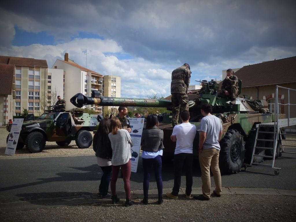 Découverte 2017 - visite du Régiment d'infanterie - Chars de marine (RICM) de Poitiers (86)
