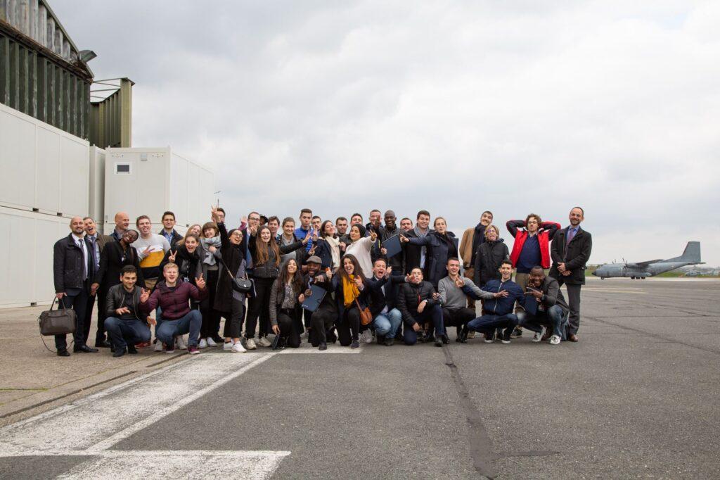 """Cycle """"Découverte"""" 2019 : visite de la Base aérienne 106 de Bordeaux-Mérignac"""